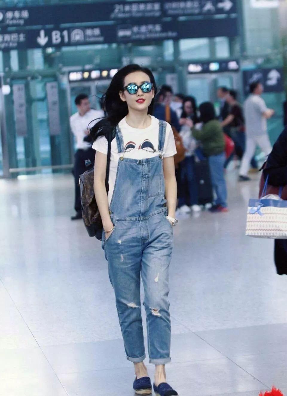 王鸥单身多年,穿衣服古怪随意,但不缺时尚范 时尚 第10张