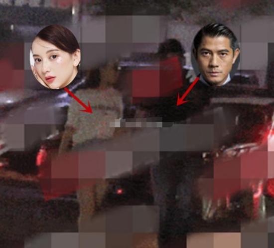 郭富城深夜逛街约会被拍? 明星 第2张