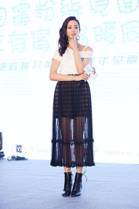 张钧甯(níng)走性感风简直秒杀柳岩! 时尚 第4张