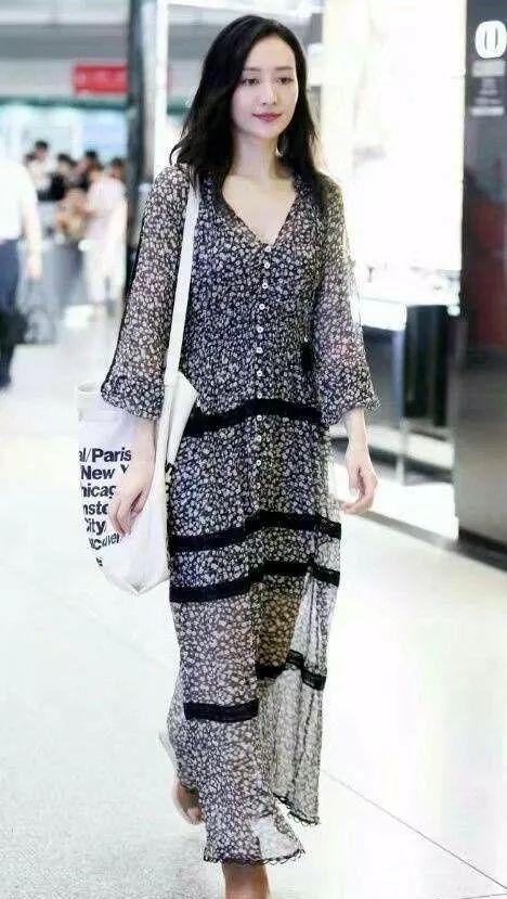 王鸥单身多年,穿衣服古怪随意,但不缺时尚范 时尚 第6张