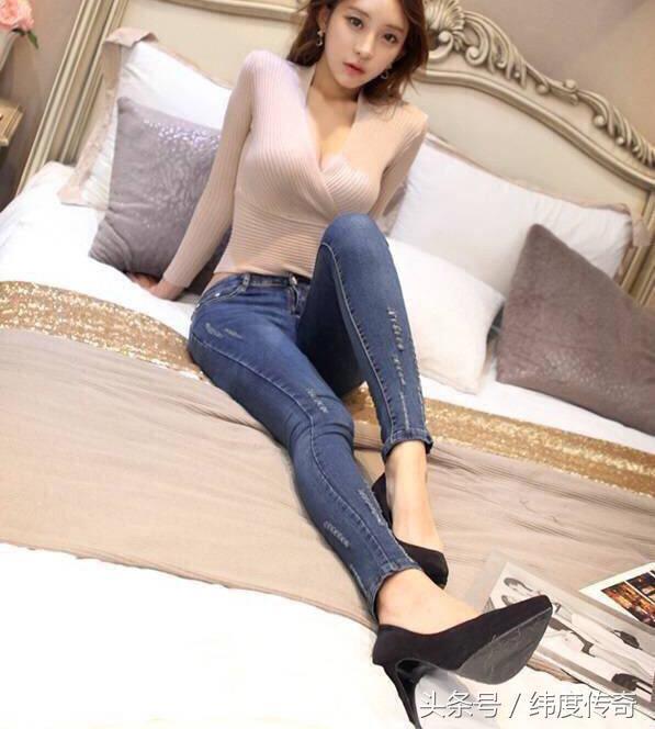 时装搭配牛仔裤舒适搭配能够完美衬托你的腿型 时尚 第2张