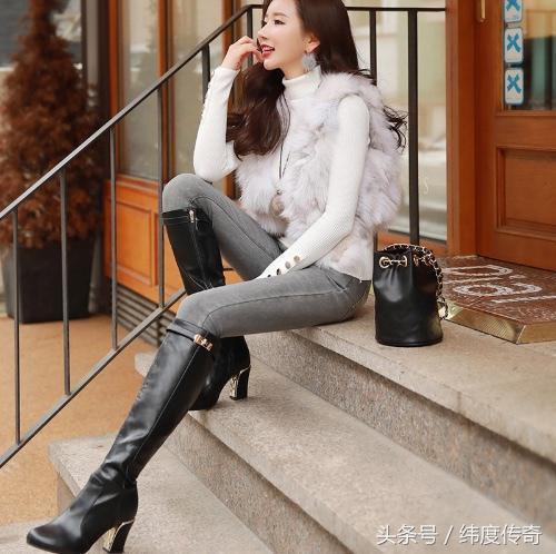 时装搭配牛仔裤舒适搭配能够完美衬托你的腿型 时尚 第4张